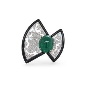Eden Emerald Ring